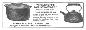 Holcroft Hollow-Ware